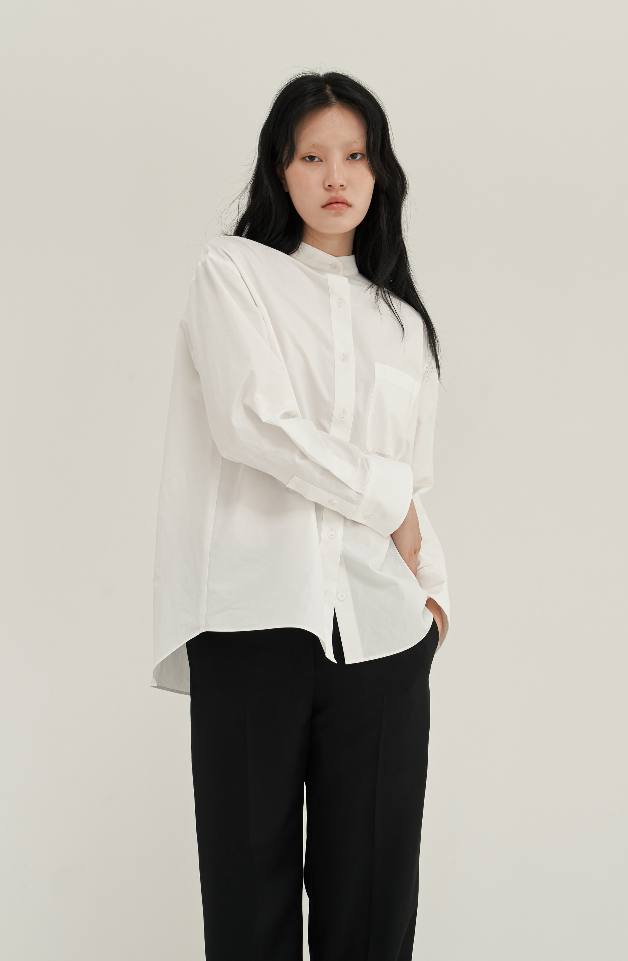 [MID SALE 15%] BOY SHIRT _ WHITE