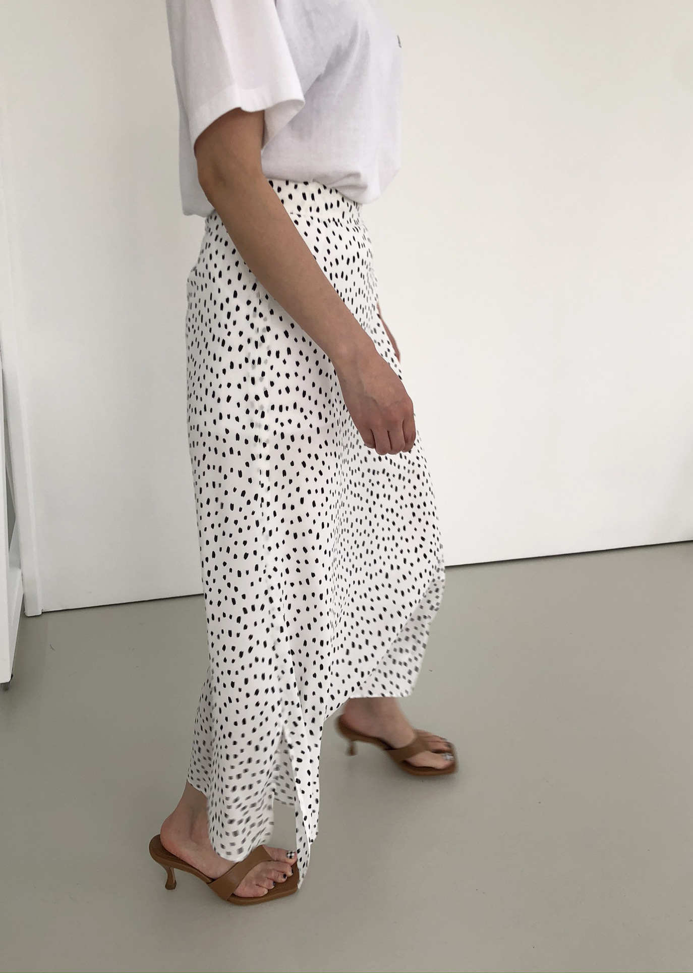 [SUMMER SALE 15%] SUMMER A SKIRT _ WHITE