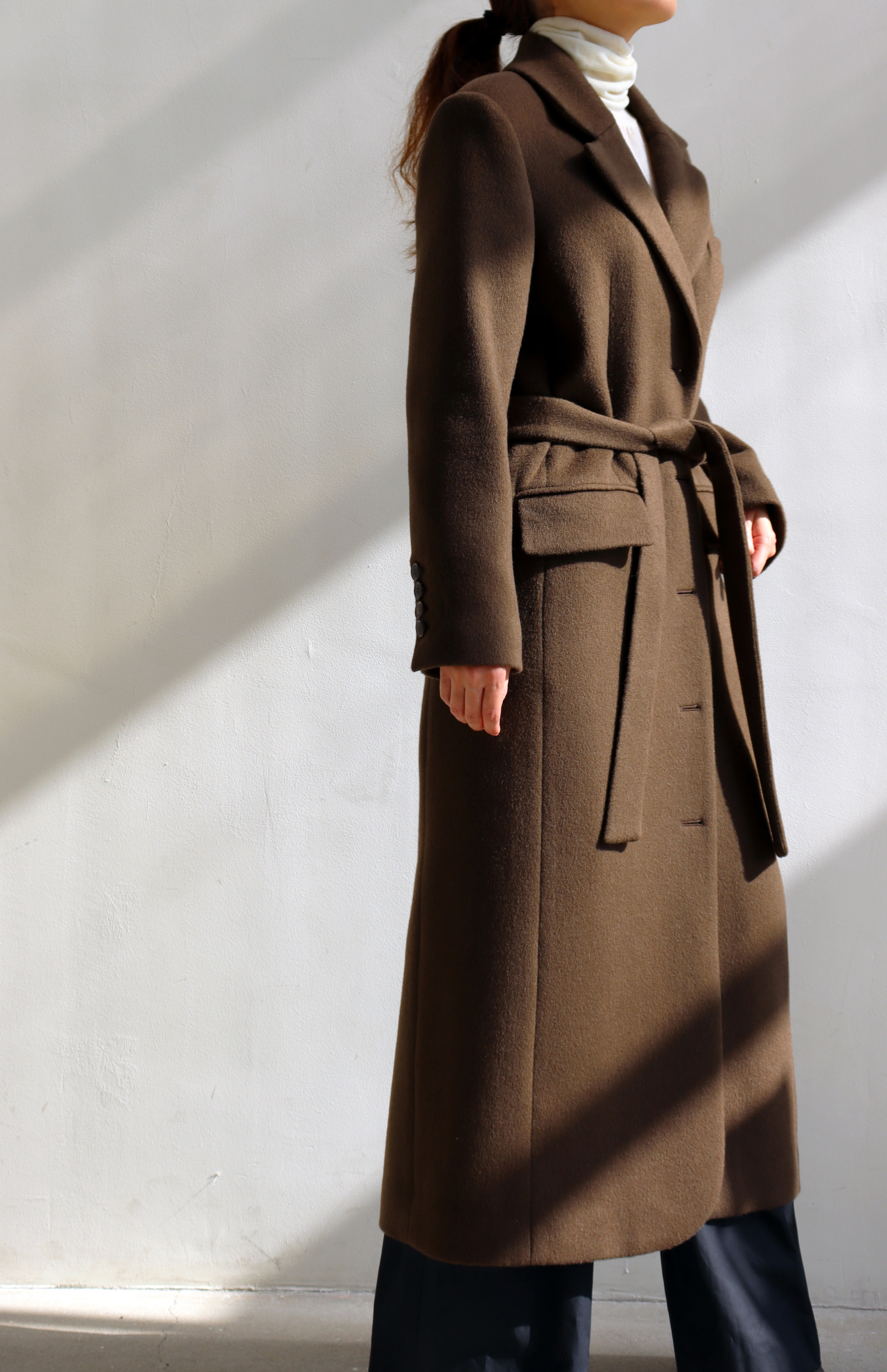 [WINTER SALE 10% OFF] BOY LONG COAT _ KHAKI