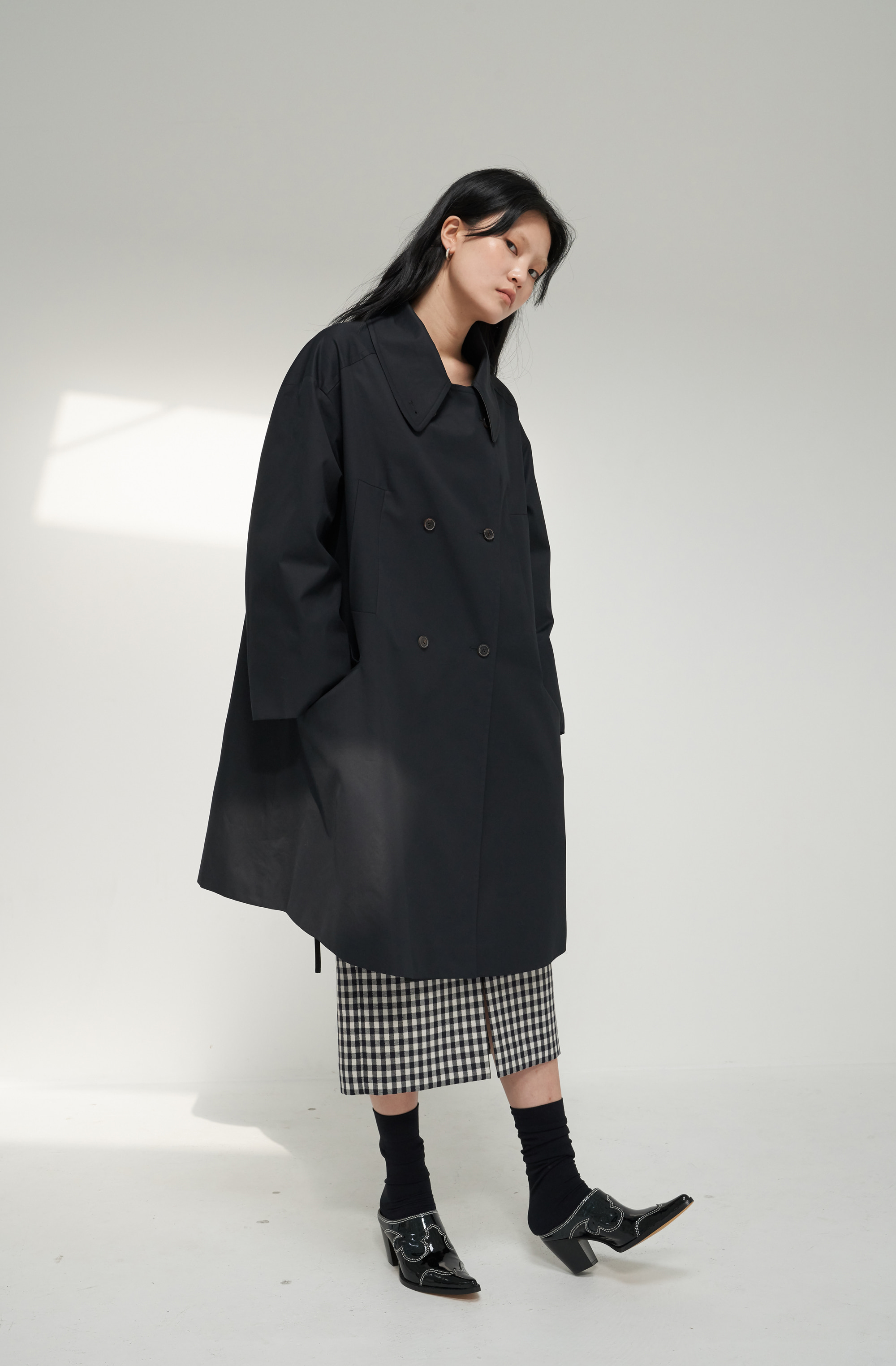 BELLE TRENCH _ NAVY