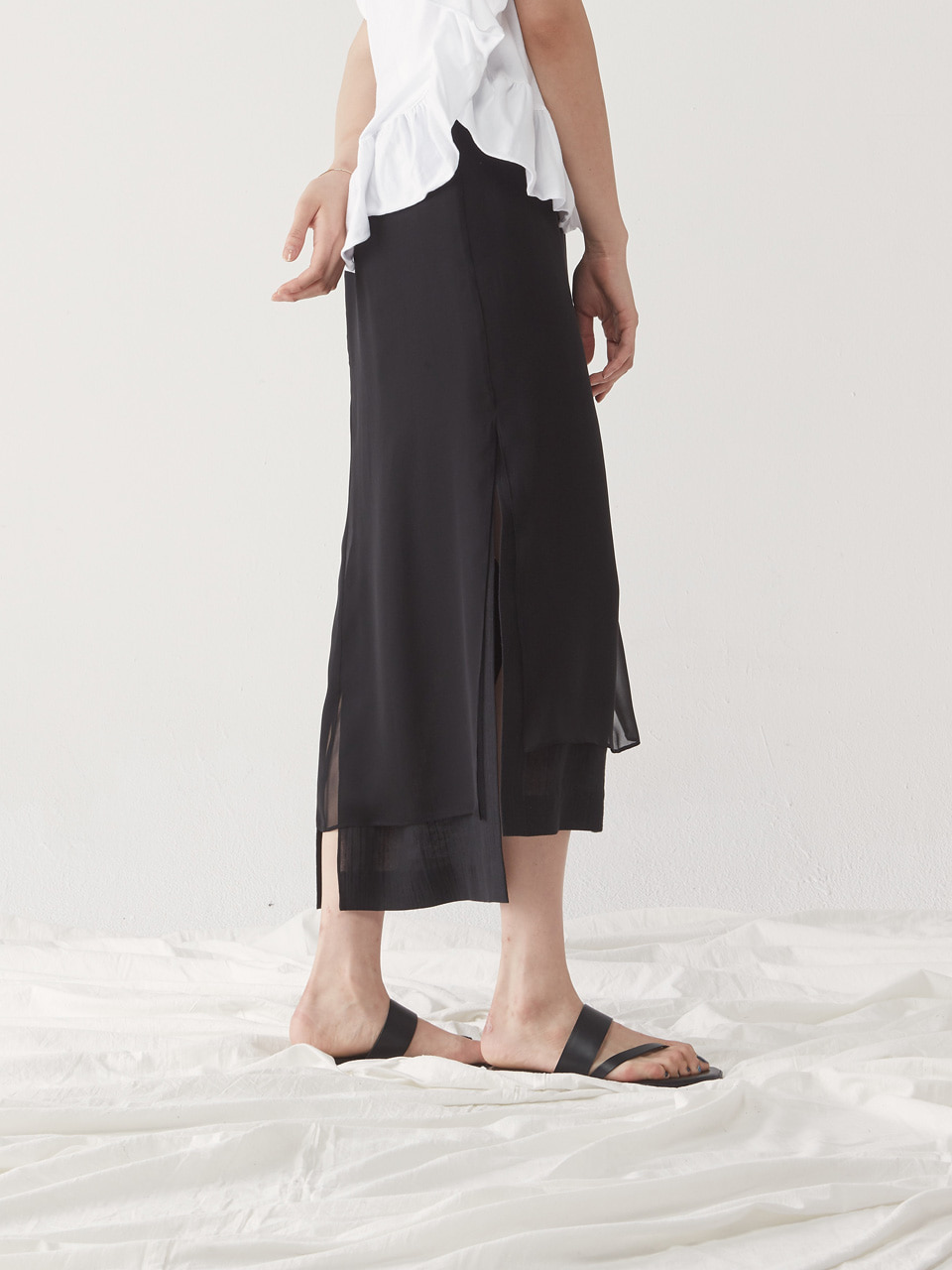 [10% SALE] LAYERED SKIRT