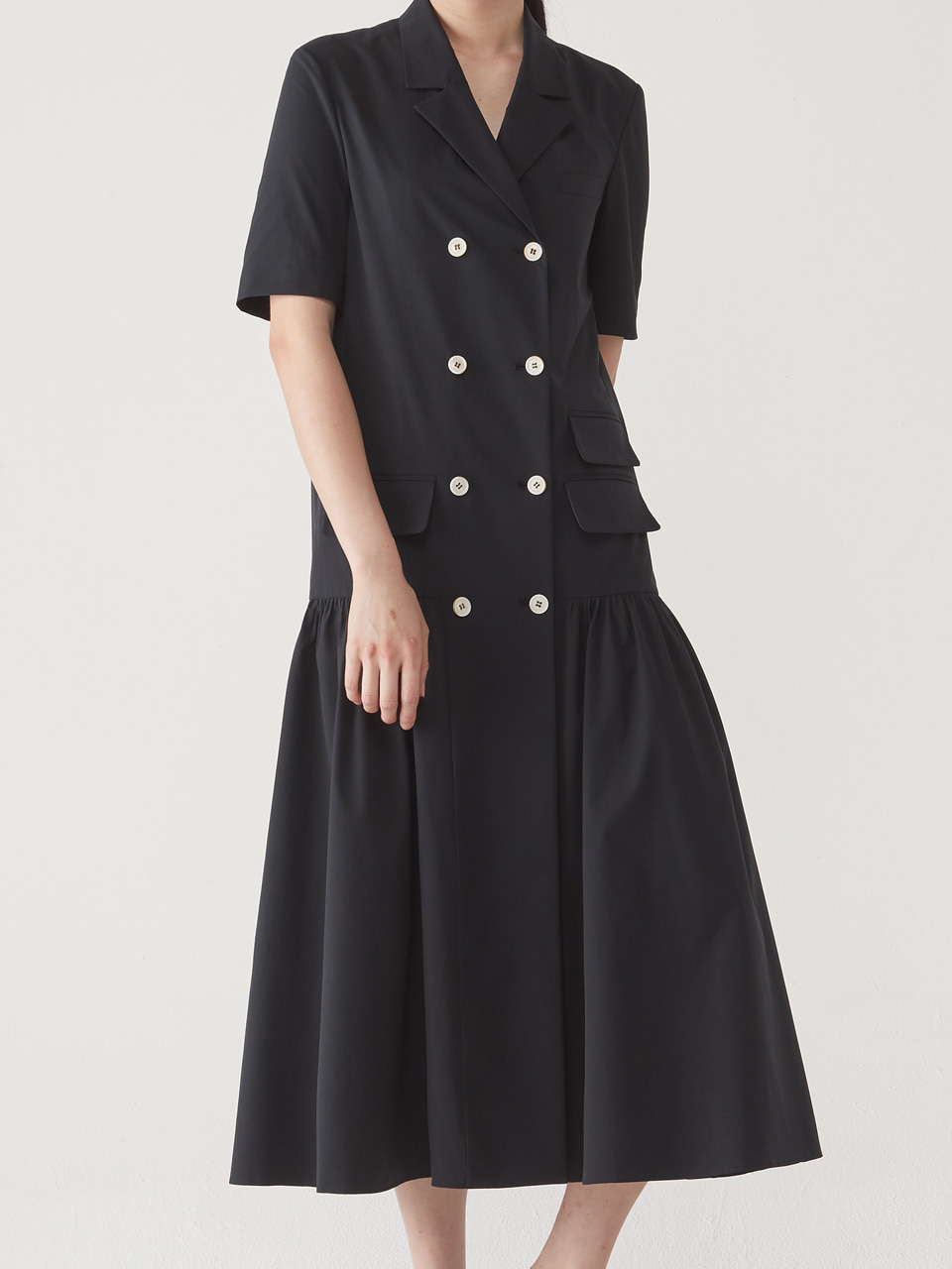 [15% SALE] SUMMER JACKET DRESS _ BLACK
